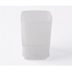 Стакан с мягким кольцом VOLLE TEO (15-88-111) матовое стекло