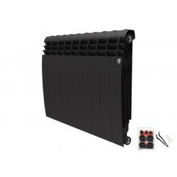 Радиатор отопления Royal Thermo BiLiner 500 Noir Sable - 4 секции (НС-1175554)