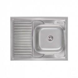 Кухонная мойка Imperial 5080-R 0,8 polish из нержавеющей стали (10908)