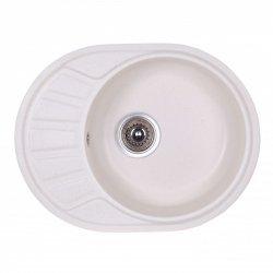 Кухонная мойка Cosh 58х45 белая (17209)