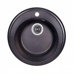 Кухонная мойка Fosto D510 SGA-420, черная (14018)
