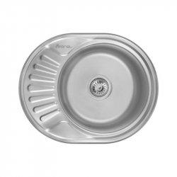 Кухонная мойка Imperial 5745 0,8 180мм polish из нержавеющей стали (7836)