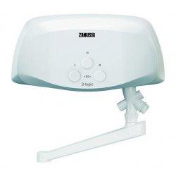 Водонагреватель электрический проточный Zanussi 3-logic T 3,5 kW -кран