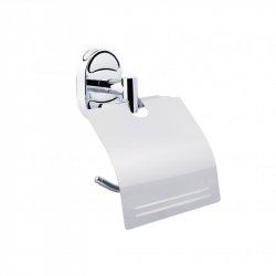 Держатель для туалетной бумаги с крышкой Lidz (CRM) 114.03.01