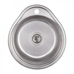 Кухонная Мойка Imperial 4843 satin из нержавеющей стали (22279)