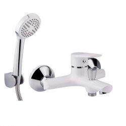 Смеситель для ванны Qtap Polaris WHI 006