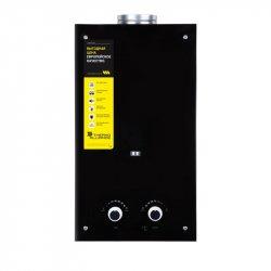 Колонка газовая дымоходная Thermo Alliance Compact JSD20-10GD 10л стекло черное (24628)