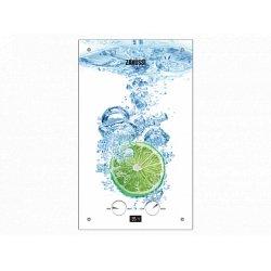 Настенный газовый котел Zanussi GWH 10 Fonte Glass Lime