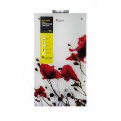 Колонка газовая дымоходная Thermo Alliance Compact JSD20-10GB 10л стекло цветок (25152)