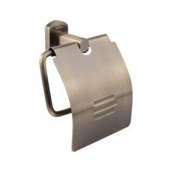 Держатель туалетной бумаги с крышкой Q-Tap QT Liberty ANT 1151 (25181)