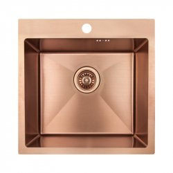 Кухонная мойка Imperial D5050BR PVD bronze Handmade 2.7/1.0 mm из нержавеющей стали