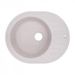 Кухонная мойка Lidz (COL-06) 620x500/200 бежевая (33669)