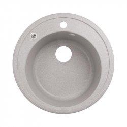 Кухонная мойка LIDZ (GRA-09) D510/200 серая