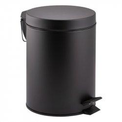 Ведро для мусора Qtap Liberty BLM 1149, черное матовое 5л