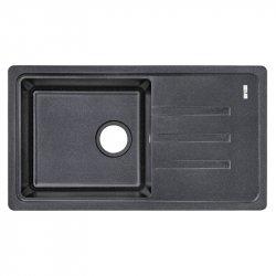 Кухонная мойка Lidz (BLA-03) 780x435/200 черная
