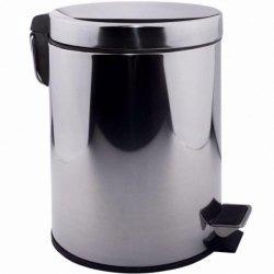 Ведро для мусора Lidz 8л (CRM)-121.01.08