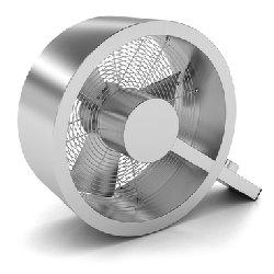 Вентилятор напольный STADLER FORM Q Brushed Metal (Q-002E)