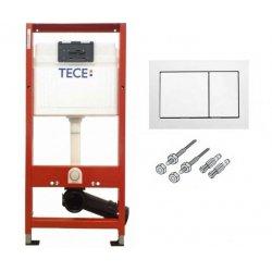 Инсталляционная система для унитаза TECE base 940000 с квадратной двойной кнопкой