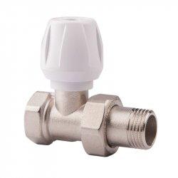 Вентиль прямой ручной с ручкой простой регулировки для радиатора 3/4 Icma №813 5188