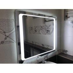 Зеркало для ванной комнаты VOLLE 600х600мм со светодиодной подсветкой 16-60-560
