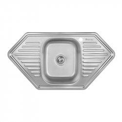 Кухонная мойка Imperial 9550-D 0,8 180мм decor из нержавеющей стали (7833)