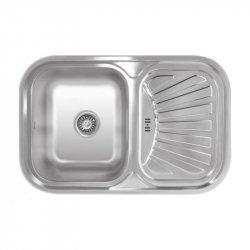 Кухонная мойка Imperial HQ-TF 02 7549 0,8 180мм polish из нержавеющей стали (7838)