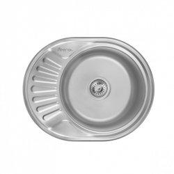 Кухонная мойка Imperial 5745-6044 0,8 180мм satin c Нержавеющей стали (23817)