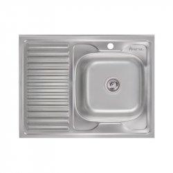Кухонная мойка Imperial 6080-R polish из нержавеющей стали (9141)