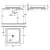 Раковина накладная Grohe Cube Ceramic 50см (3948100H)