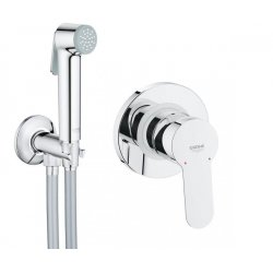 Набор Гигиенический душ и смеситель Grohe BAU EDGE 28343001