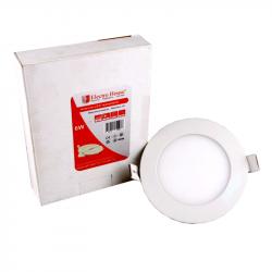Светильник потолочный Electro House (EH-LMP-1271) LED панель круглая 6W Ø 120мм