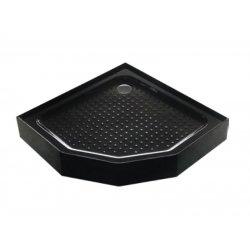 Поддон душевой ASIGNATURA Perissa черный 90x90x15см (69833007)