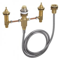 Скрытая часть на четыре отверстия Hansgrohe Talis S (13244180) для установки смесителя на край ванны