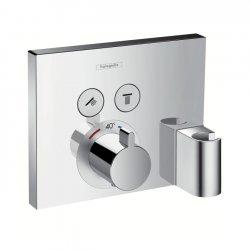 Термостат внешняя часть Hansgrohe Shower Select 15765000 для двух потребителей