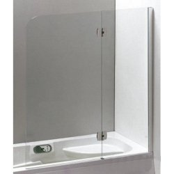 Шторка для ванн Eger хром 599-120CH/R