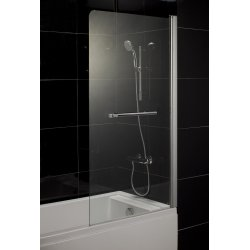 Шторка для ванн Eger, хром 599-02R grey