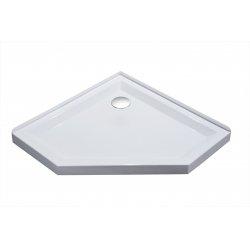 Поддон пятиугольный Eger SMC, 1000*1000*40см (599-535-100/2)