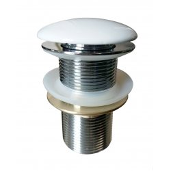 Донный клапан VOLLE цвет белый (90-00-037white)