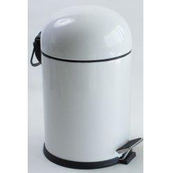 Ведро для мусора 5L EFOR BON белое (5003B)