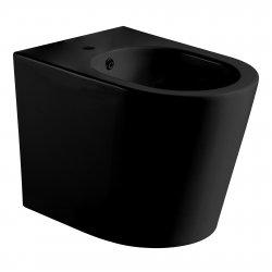 Биде напольное черное матовое VOLLE NEMO (13-17-046 Black)