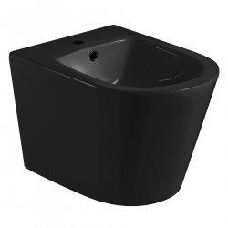 Биде подвесное черное матовое VOLLE NEMO (13-17-036 Black)