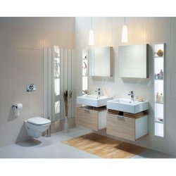 Зеркало для ванной комнаты KOLO TWINS 60х60х7см (88403-000)