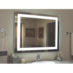 Зеркало для ванной комнаты VOLLE 450х600мм со светодиодной подсветкой 16-45-560